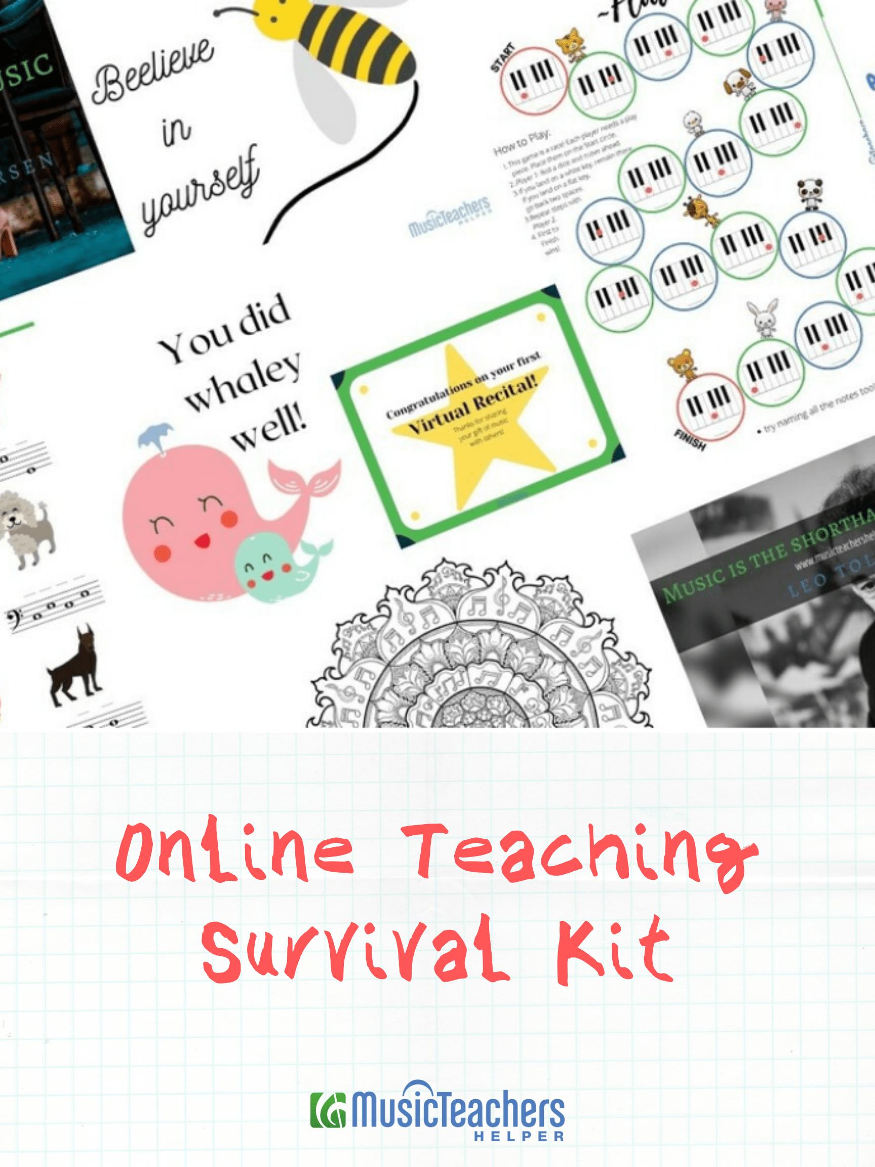 Online Survival Kit Graphic